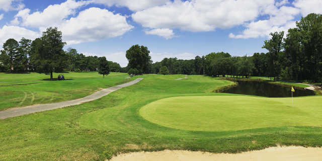 View of a green at Hanover Golf Club