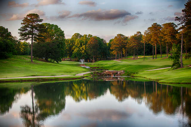 A view from Lake Spivey Golf Club