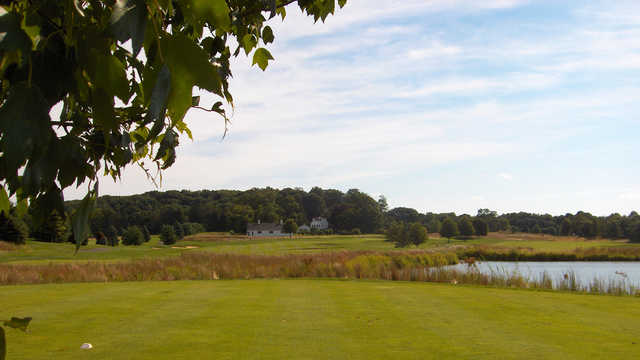 A view from a tee at Colts Neck Golf Club.