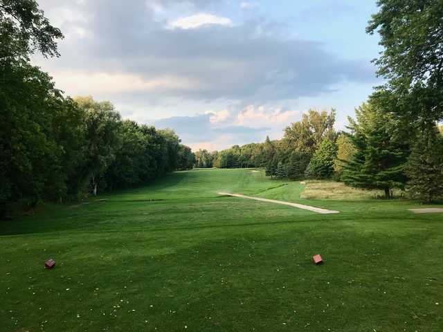 View from a tee at Mitchell Golf and Country Club