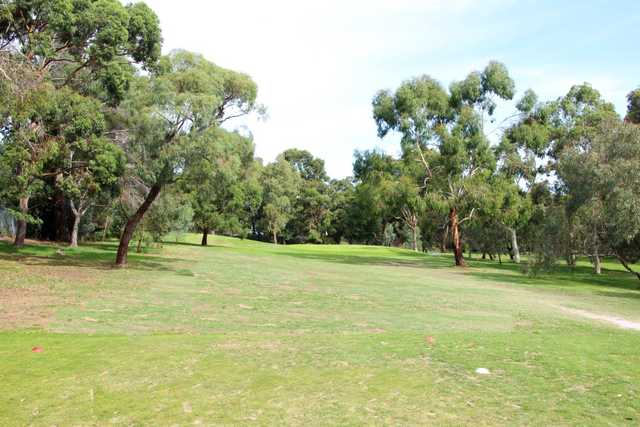 View of the 5th hole at Oakleigh Golf Club