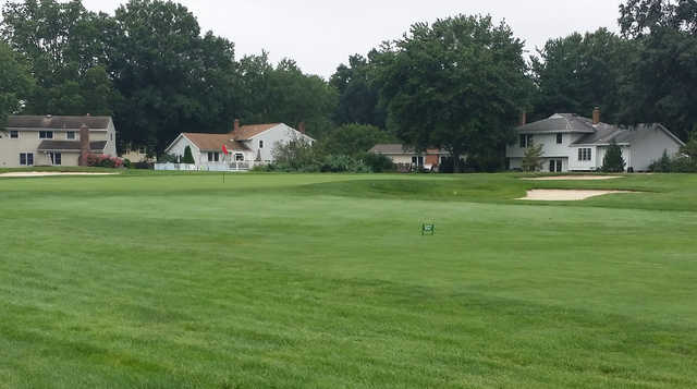A view of the 4th green at White from Ramblewood Country Club.
