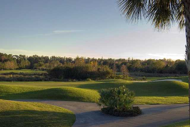 A view of the 9th hole at Westchase Golf Club