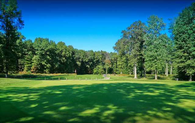 View from a green at Mallard Creek Golf Club