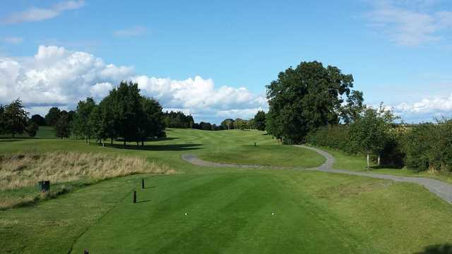 A view from a tee at Athy Golf Club.