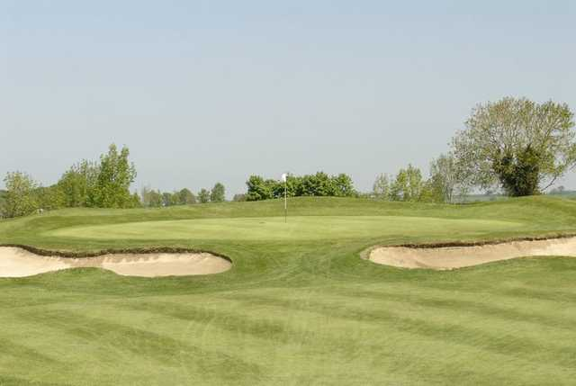 A view of the 14th hole at Athy Golf Club.