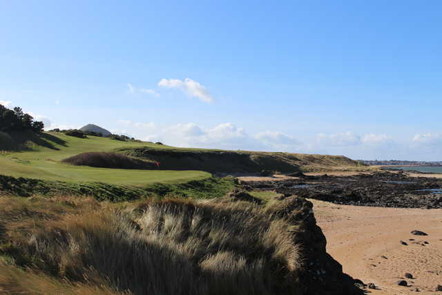 View of the 13th hole at Glen Golf Club