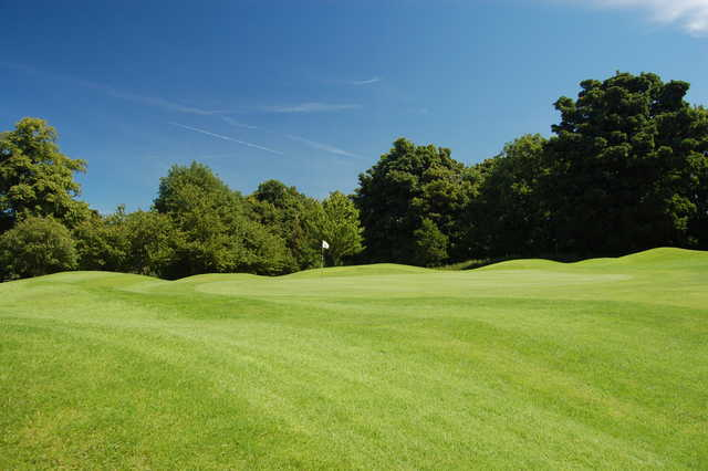 View of a green at Royal Musselburgh Golf Club