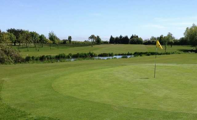 View from a green at Millers Barn Golf Park