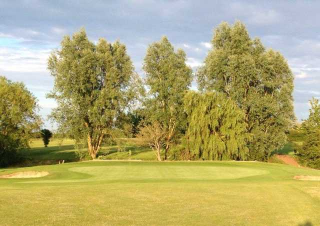 View of a green at Millers Barn Golf Park