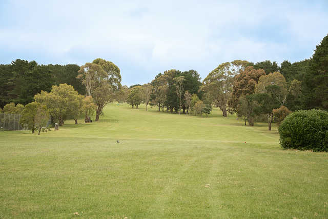 View from the 1st tee at Camperdown Golf Club