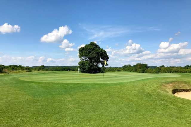 View of a green at Cuckfield Golf Centre
