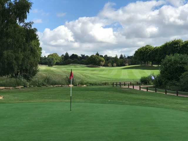 View from a green at Hurtmore Golf Club