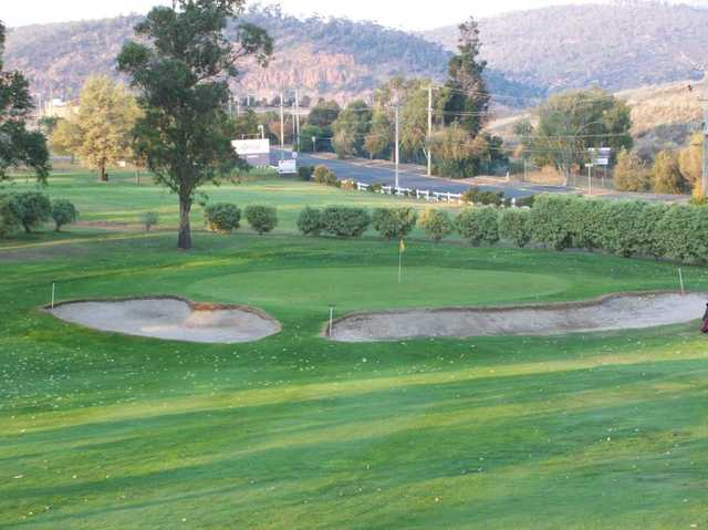 View of the 9th hole at New Town Bay Golf Club