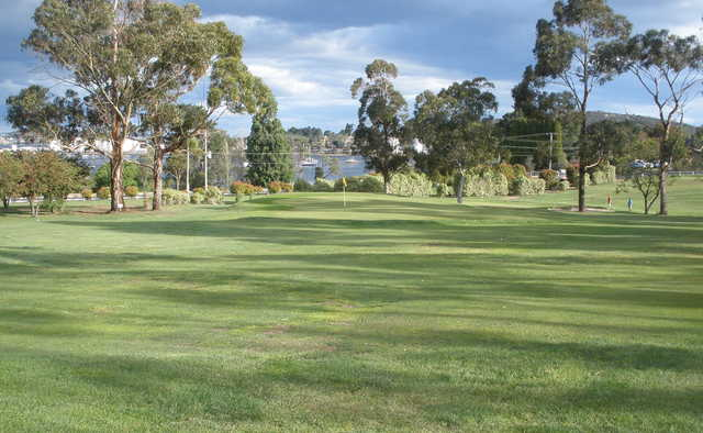View of the 3rd hole at New Town Bay Golf Club