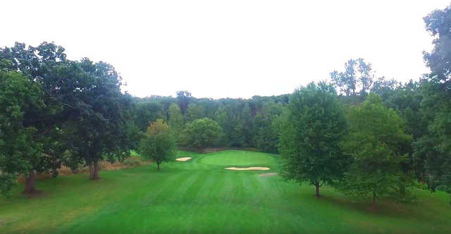 View of the 3rd hole at Zollner Golf Course