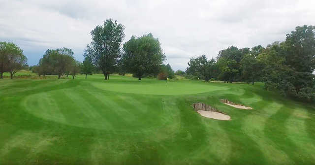 View of the 2nd hole at Zollner Golf Course
