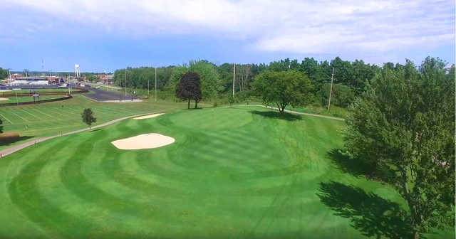 View of the 11th hole at Zollner Golf Course