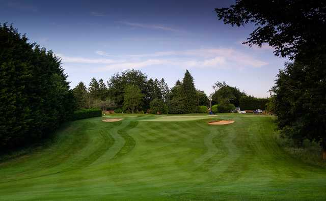 A view of gole #18 at Cotswolds Club Chipping Norton.