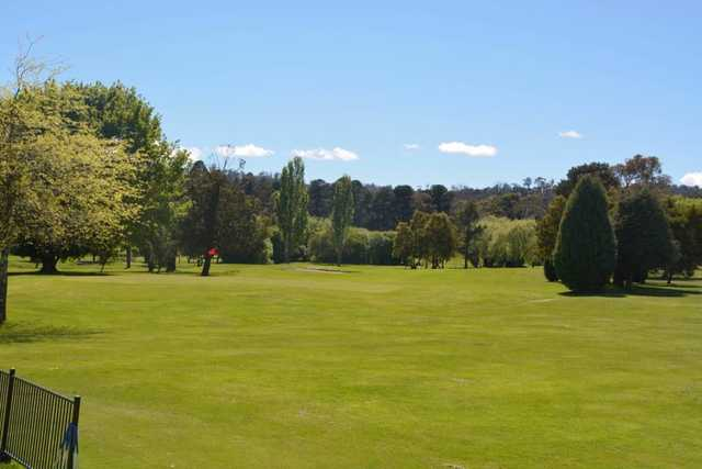 A view from Mowbray Golf Club