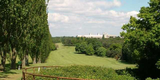 A view of fairway 311 at Knebworth Golf Club.