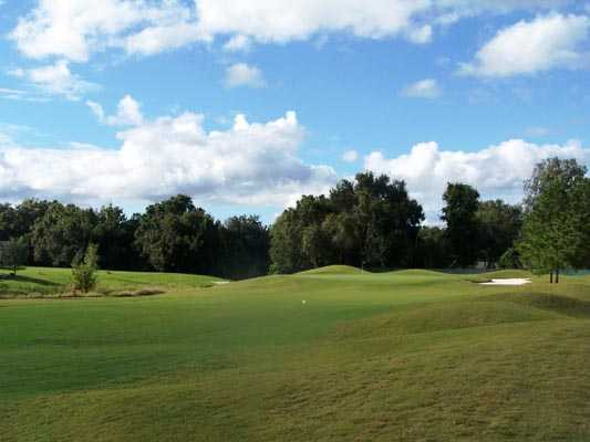A view of green #5 at Plantation Palms Golf Club