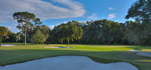 View of a green at Palatka Golf Club