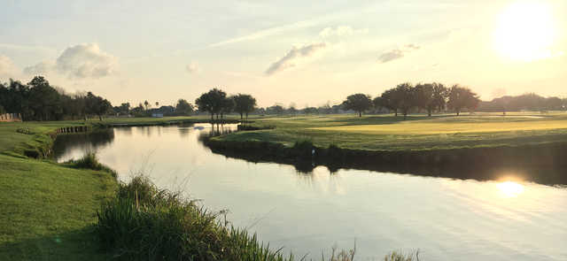 A view over the water from Stonebridge Golf Club of New Orleans.