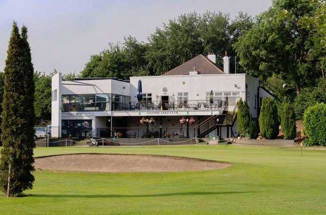 View of the clubhouse at Teesside Golf Club