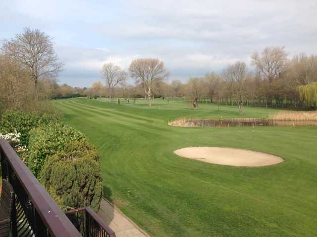 A view from Teesside Golf Club