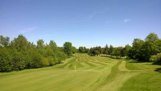 A view from Dunfermline Golf Club