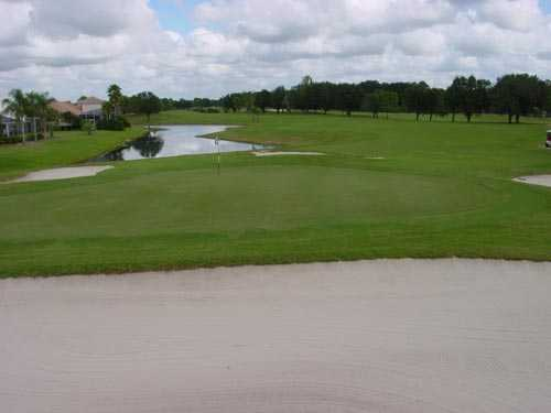 A view of hole #17 at River Hills Country Club