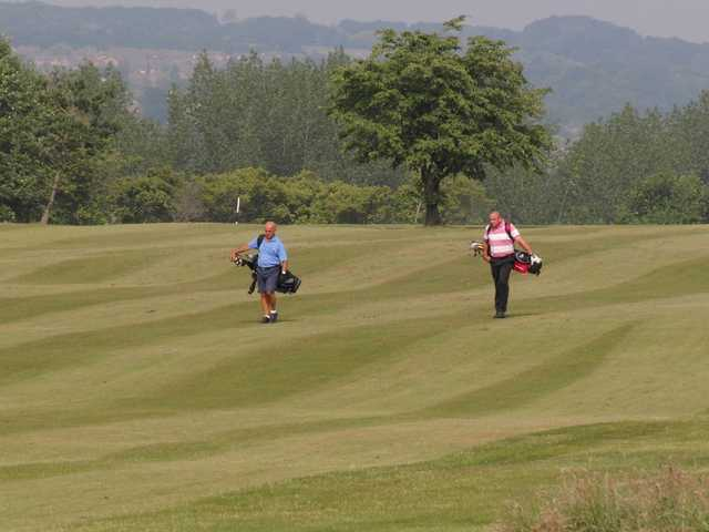 A view from Haigh Hall Golf Club