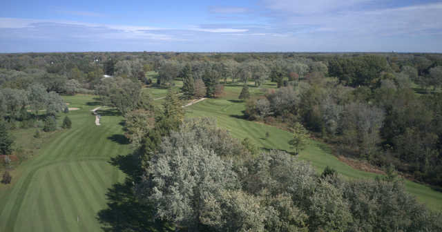 Aerial view from Black River Country Club
