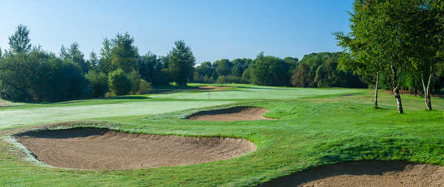 A view from Coyote Creek Course at Willows Run Golf Club.