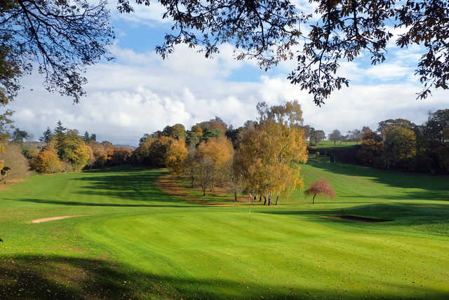 View of the 2nd green at Bramley Golf Club