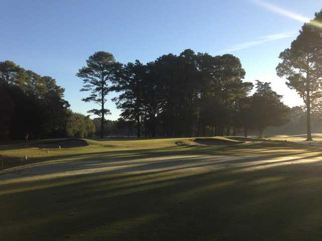 An early day view from Kempsville Greens Golf Course.