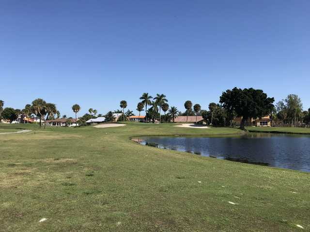 A view from the West course at Country Club of Miami
