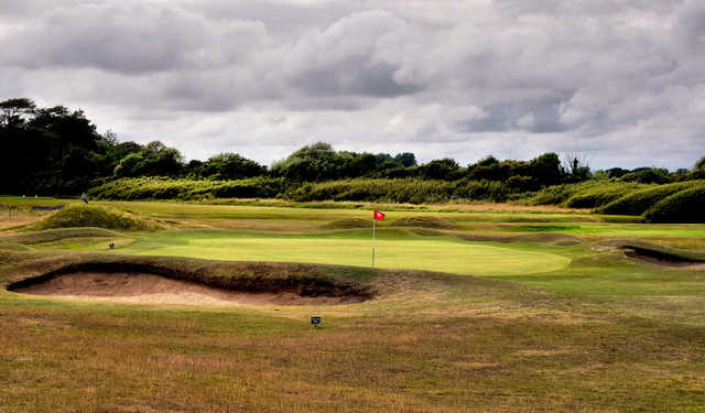View of a green at Littlehampton Golf Club