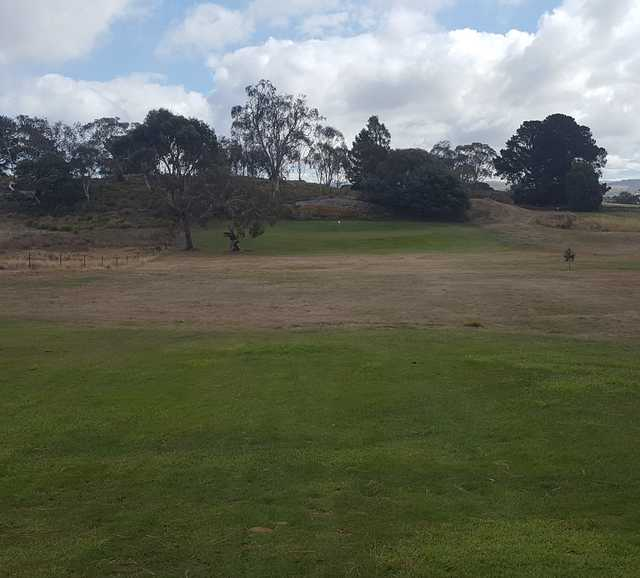 View of a green at Oatlands Golf Club
