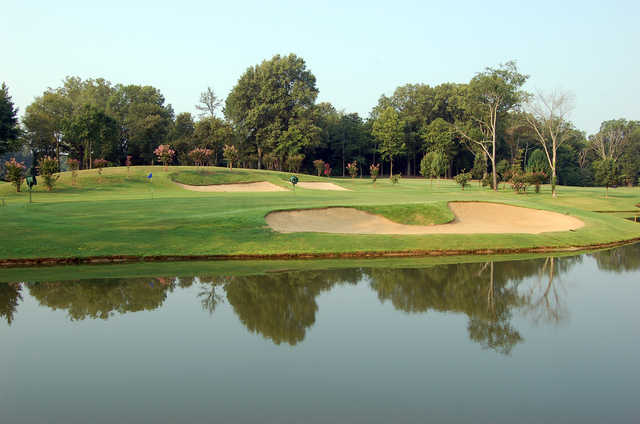 View of the 16th green at Irene Golf and Country Club