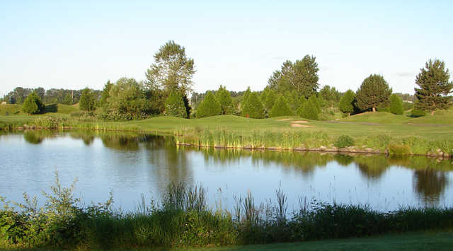 A view of hole #6 at Riverway Golf Course.