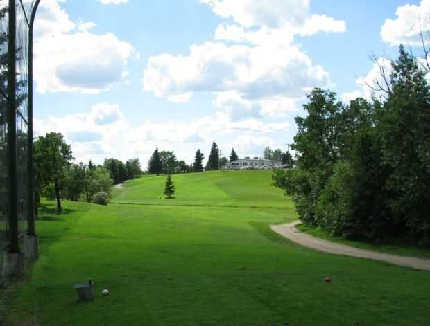 A view from a tee at Deer Park Golf Course.