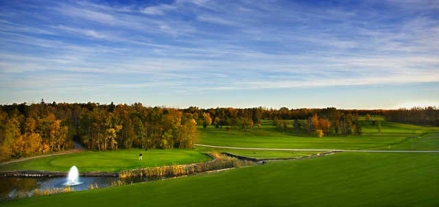 A view from Deer Park Golf Course.