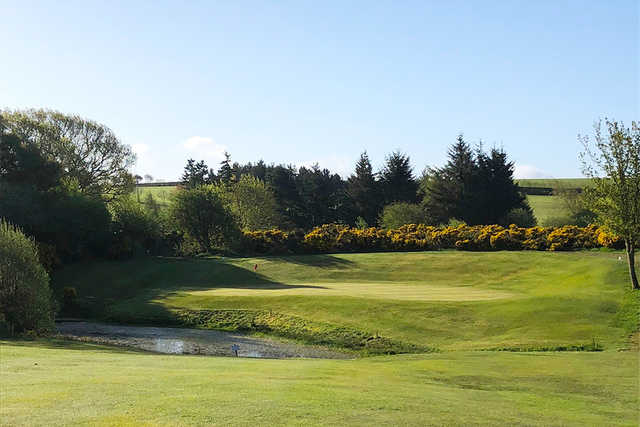View of a green at Jedburgh Golf Club