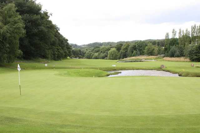 A view of hole #5 at Blackmoor Course from Moor Allerton Golf Club.