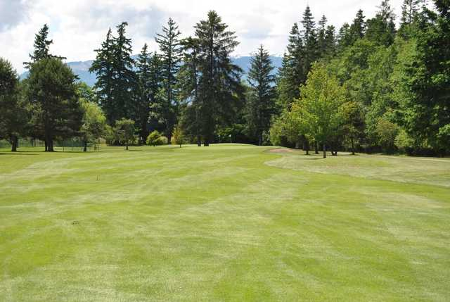 A view of two holes at Sunnydale Golf and Country Club.