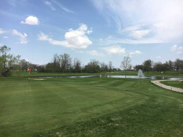 View from the 4th green at Hickory Sticks Golf Club