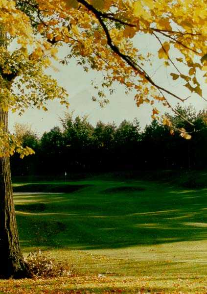A view of hole #8 at Forest Akers Golf Course - West Course