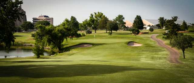 A view from a fairway at Greens Country Club.